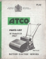 "Atco Battery Electric 20"" (F23) - Parts List"