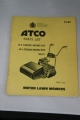 "Atco Parts List for 12"" 4-Stroke Model and 14"""