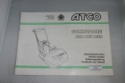 Atco Commodore B14, B17 and B20 Operating Instructions